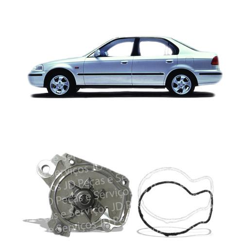 Bomba De Água Civic 1.4/1.5/1.6 16V (1996/1998)