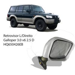 Retrovisor L-Direito Galloper 3.0 v6/2.5 D
