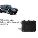 Radiador de Água Galloper 3.0 V6 Automático