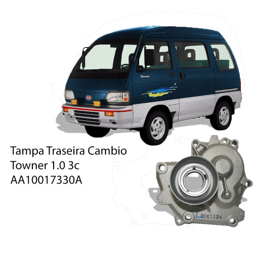 Tampa Traseira Cambio Towner 1.0 3c
