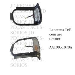 Lanterna Dianteira Towner  Com Aro Lado Esquerdo